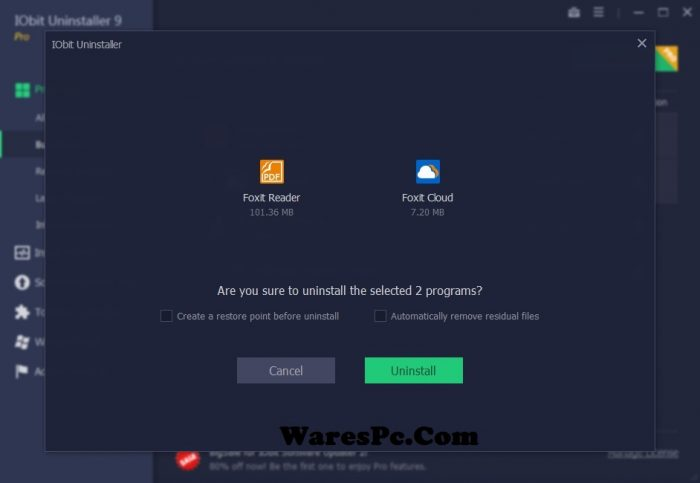IObit Uninstaller Pro 9