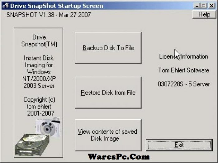 Drive SnapShot Serial Key