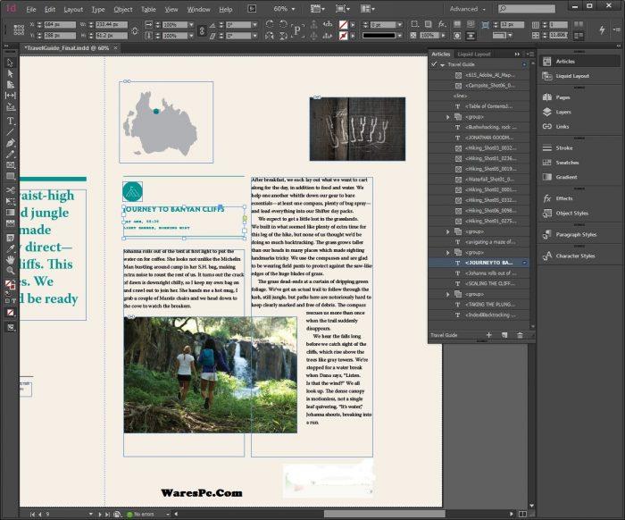 Adobe InDesign CC 2020 Crack