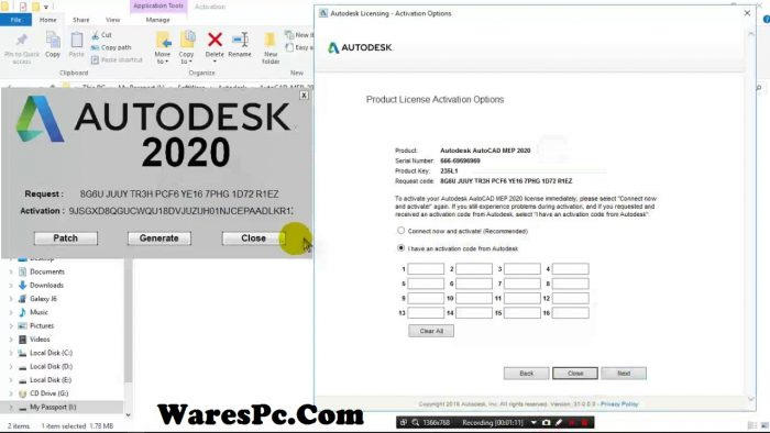 Autodesk Autocad 2020 Serial Key