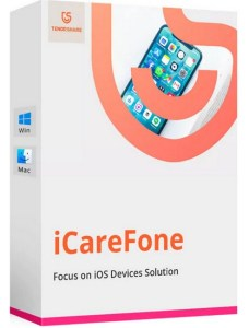 Tenorshare iCareFone Registration Code