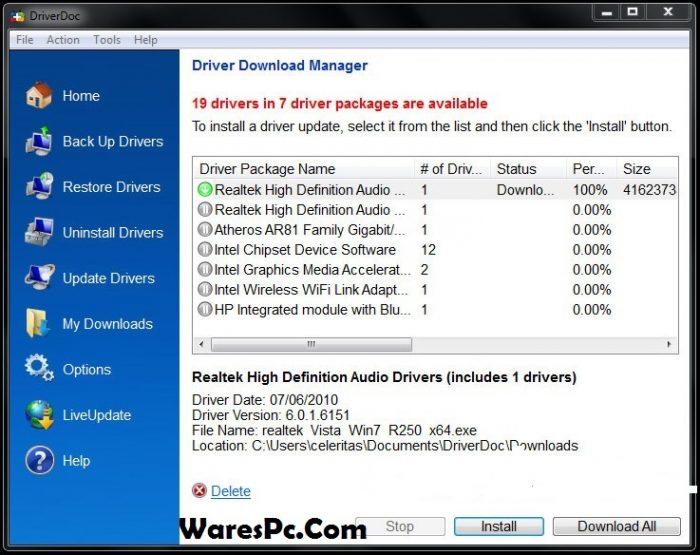 DriverDoc 2020 License key