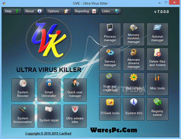 UVK Ultra Virus Killer License Key